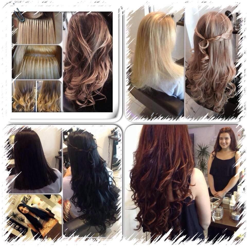 Top Quality Human Hair Extensions In Various Lengths And Colors With