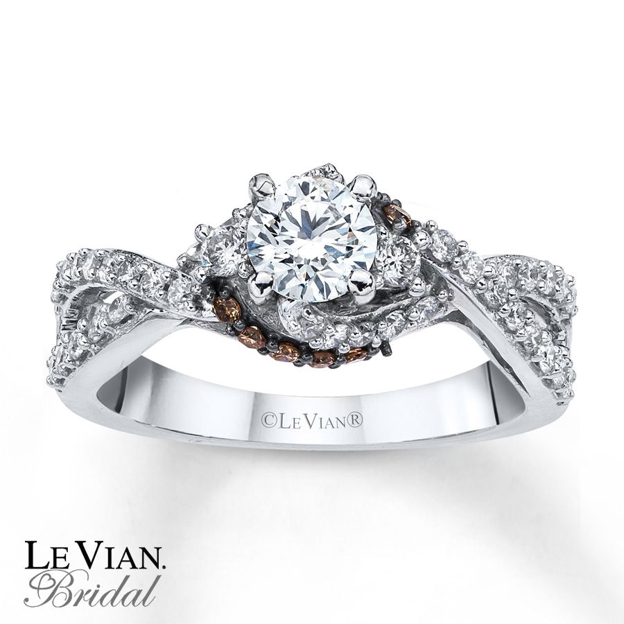 love the levian rings love the chocolate diamonds - Chocolate Diamond Wedding Ring Sets