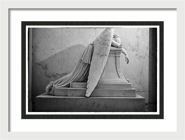 Angel Of Grief Framed Print featuring the photograph Angel Of Grief New Orleans 6 by Gregory Cox