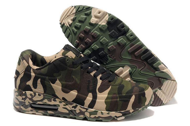 Herren Schuhe Nike Air Max 90 VT Army Camo CG/1582 | Chaussures ...