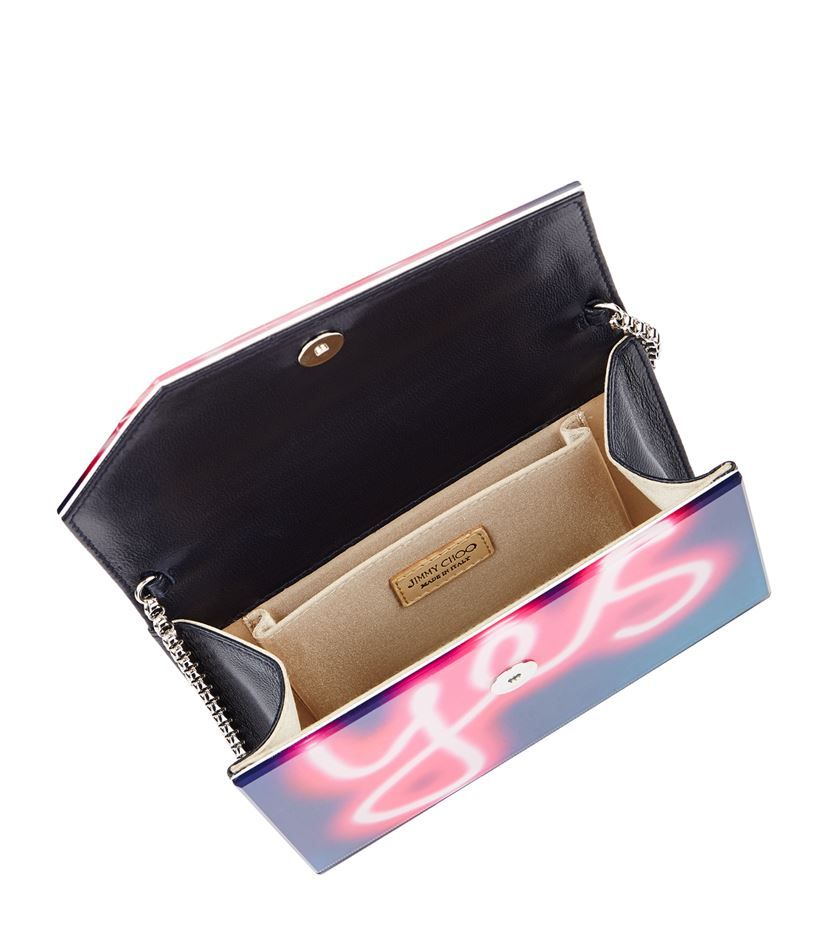 Rent Now Jimmy Choo Candy Clutch Bag 27 50 Navy And