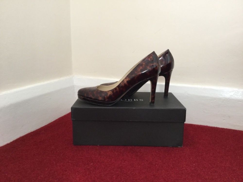 b660f58df63c Hobbs Court Shoes - Tortoiseshell- leather made in Italy size 5 - Gorgeous