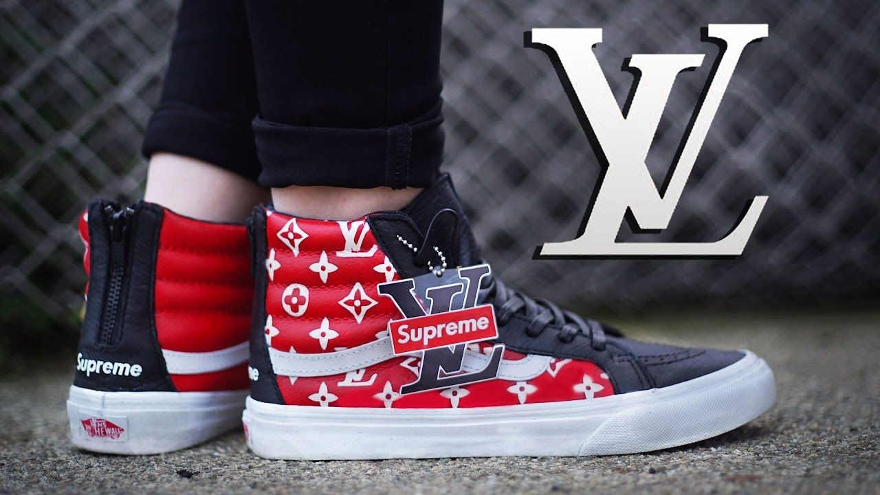 supreme collab with vans