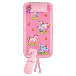 she already has a pink horse nap pad, but this is cute too!