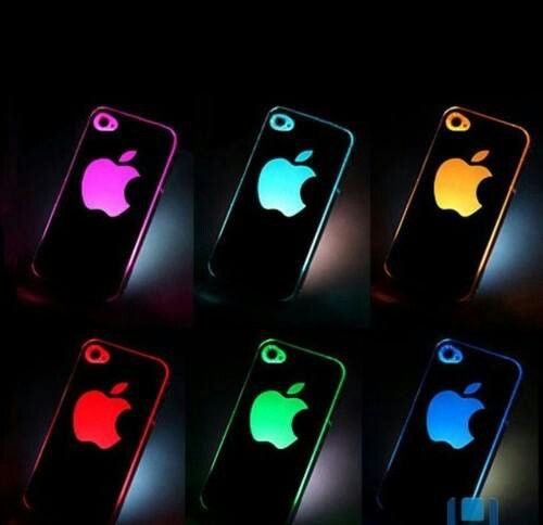 Glow in the dark light apple phone cases   Light iphone cases, Led ...