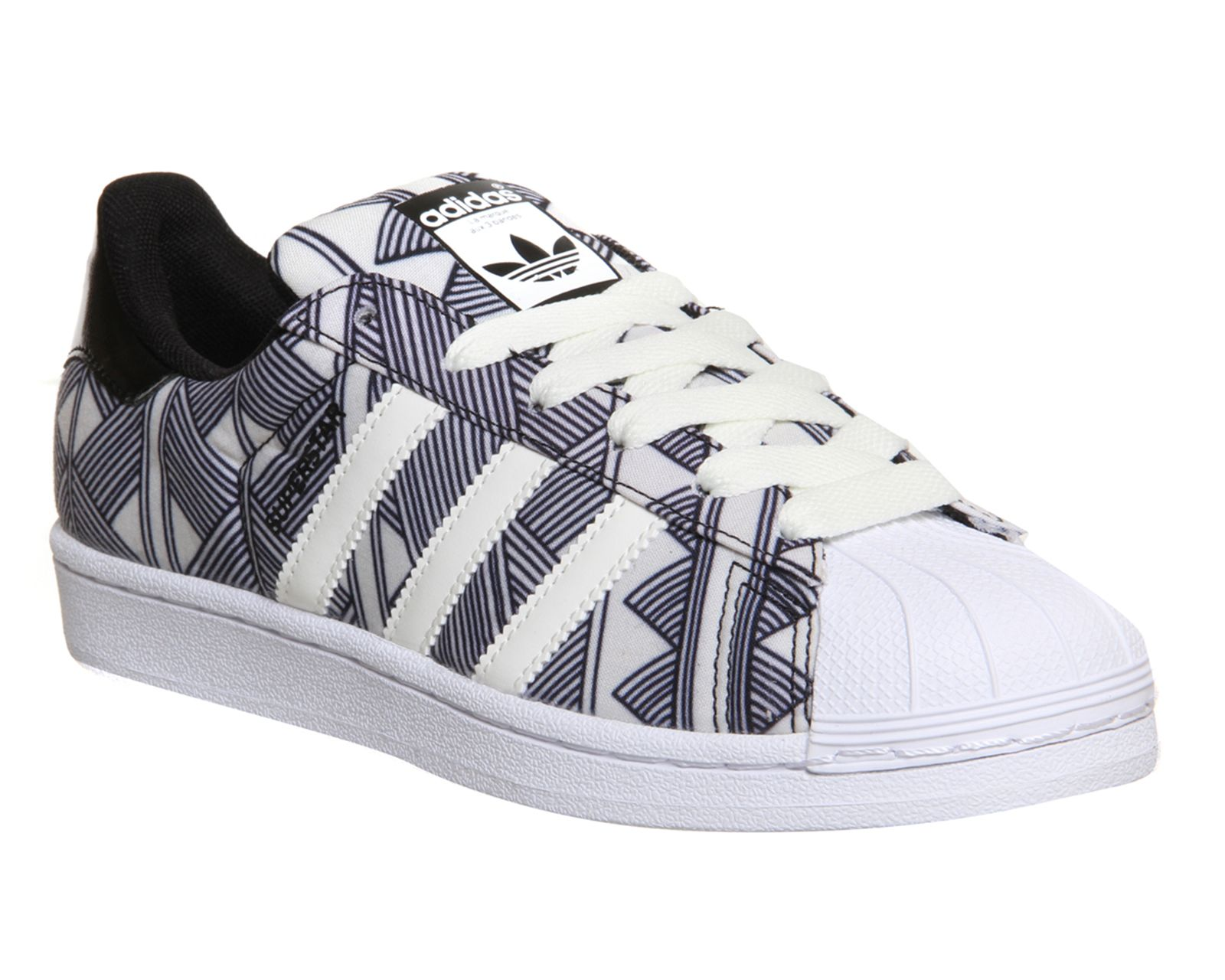Adidas Superstar 2 Black White Farm Print W - His trainers. Adidas  NmdAdidas SneakersNike ShoesSkate ShoesCat WomenAdidas ...