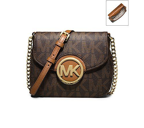 Michael Kors Women's Leather Cross-Body Handbag