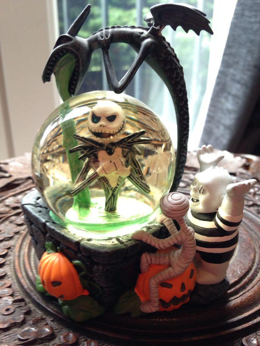 Nightmare Before Christmas Disney Store Snow Globe | Nightmare ...