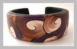 Bracelet I made after attending Donna Kato workshop