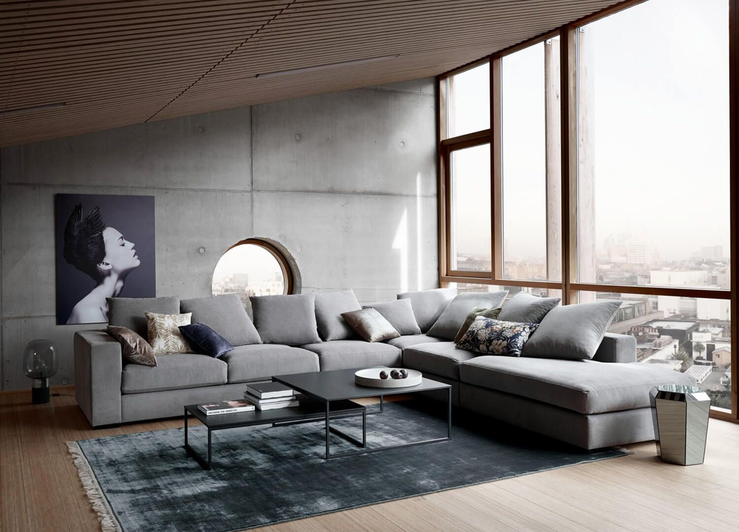 Cenova Sofa By Boconcept Est Living Design Directory Living Design Furniture Design Boconcept Sofa
