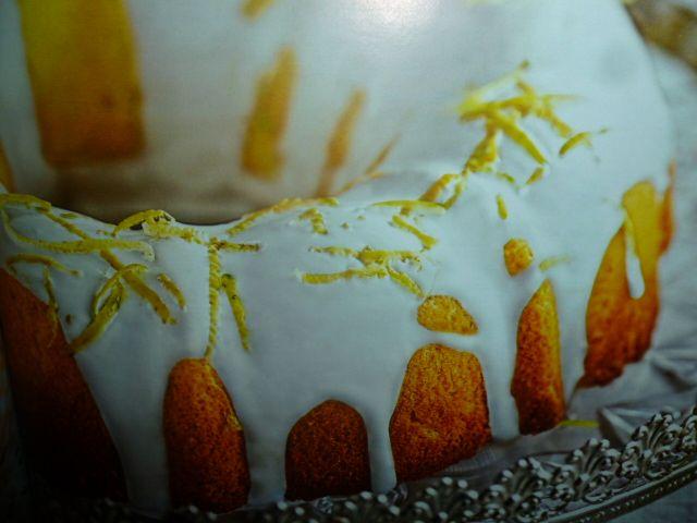ciambella al limone - glassata golosa