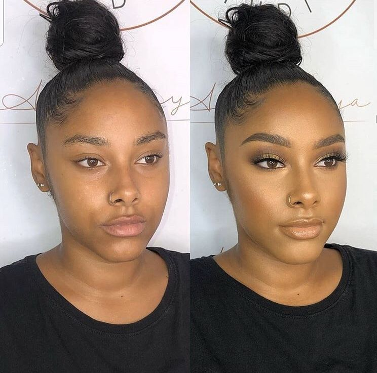 Pin By Kere Carla On ɢ ɪ ʀ ʟ 1 0 1 Brown Skin Makeup Makeup For Black Women Soft Glam Makeup