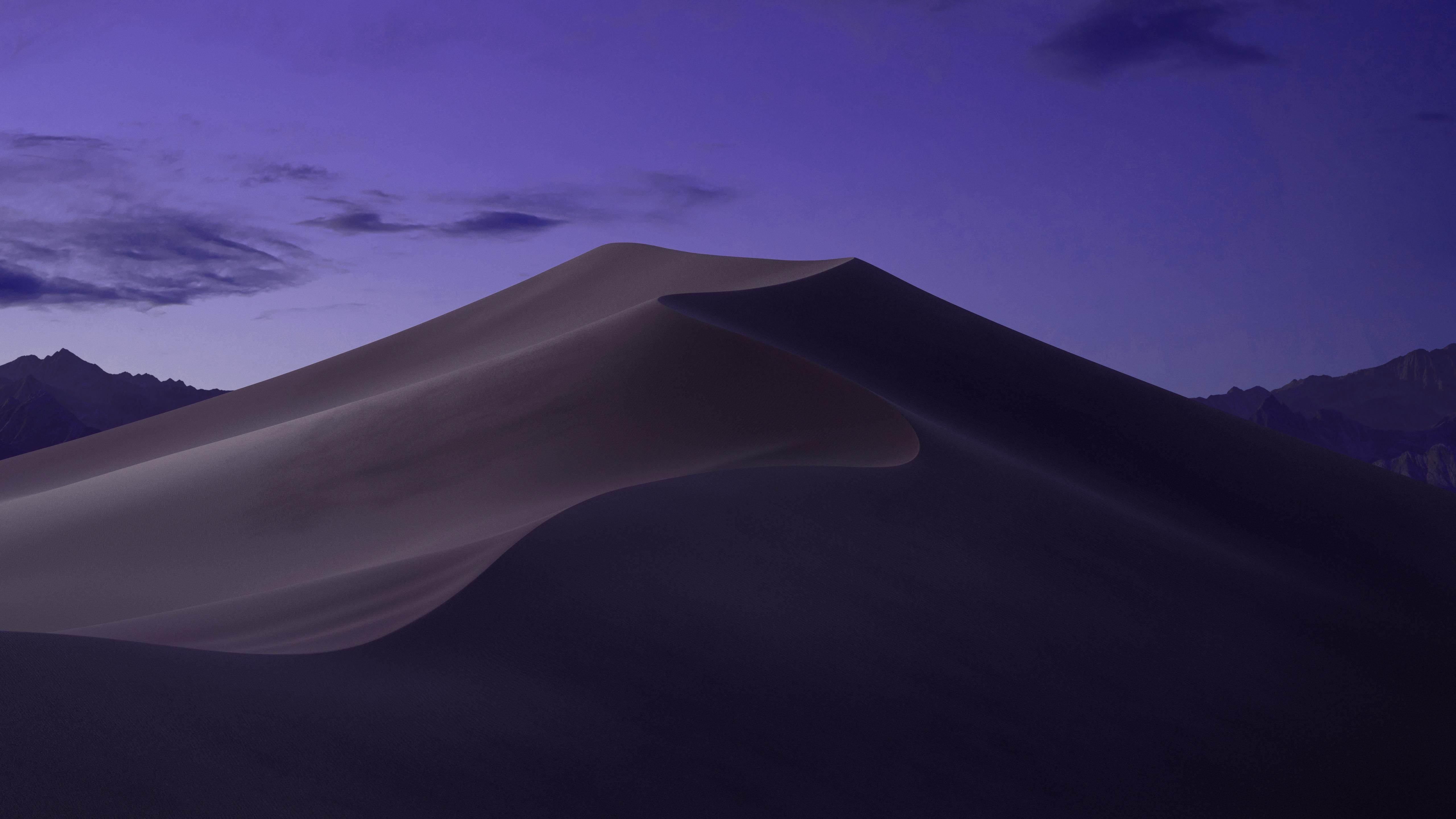 A More Purple Ish Version Of The Mac Os Mojave Wallpaper
