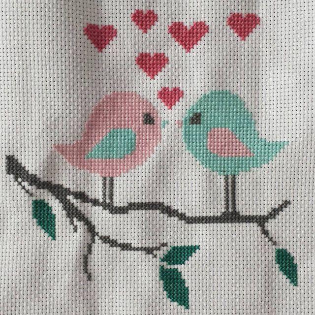 Modern Wedding cross stitch pattern   Cross stitch   Pinterest ...