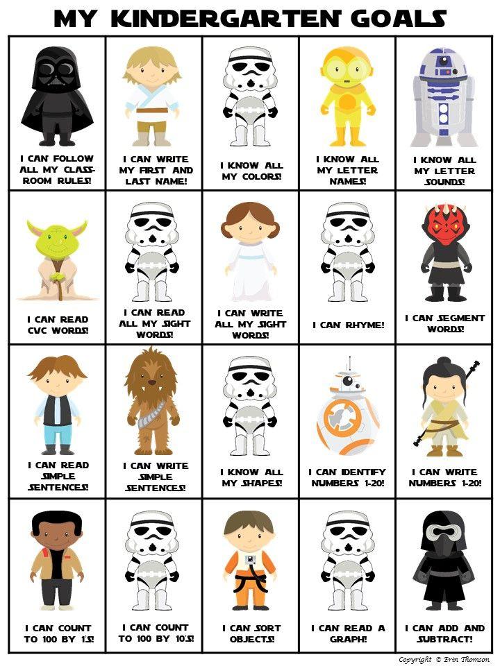 Kindergarten Data Board ~ Star Wars Themed | Pinterest