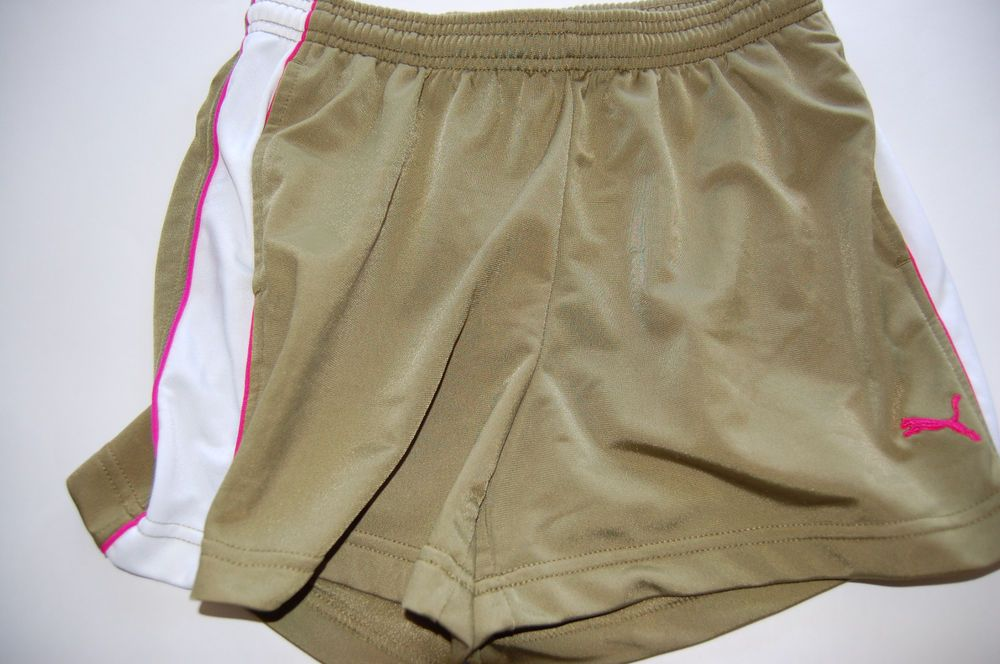 8cb7a4bacd58 PUMA Womens Size Medium Pink Athletic Training Gym Work Out Running Shorts  med m  fashion