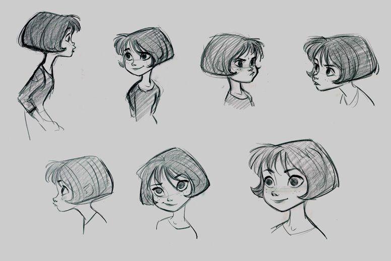Disney S Bolt Photo Penny 3 Concept Art Drawing Character Design Disney Concept Art