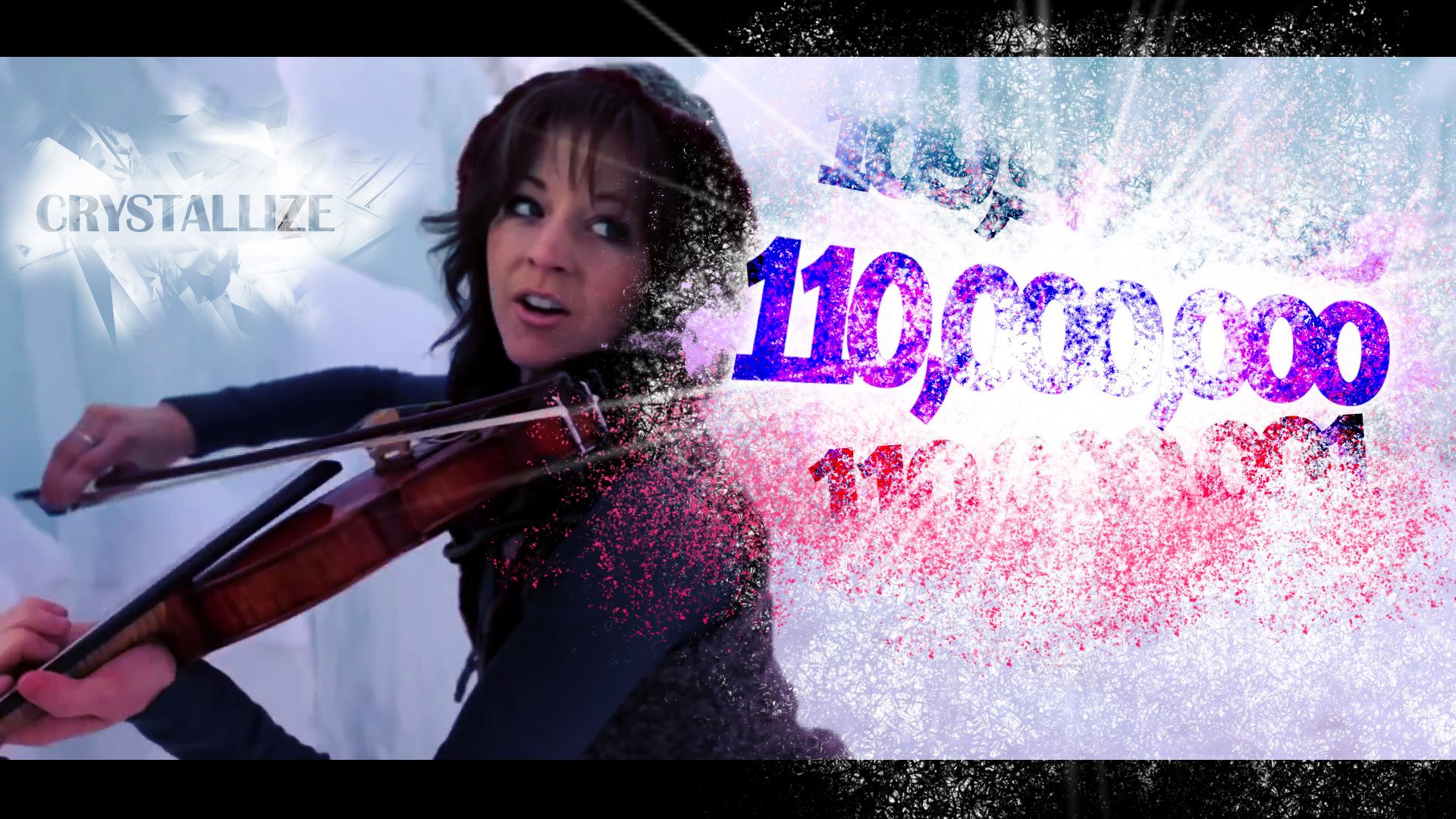 Lindsey Stirling 110 Mio Crystallize YouTube views