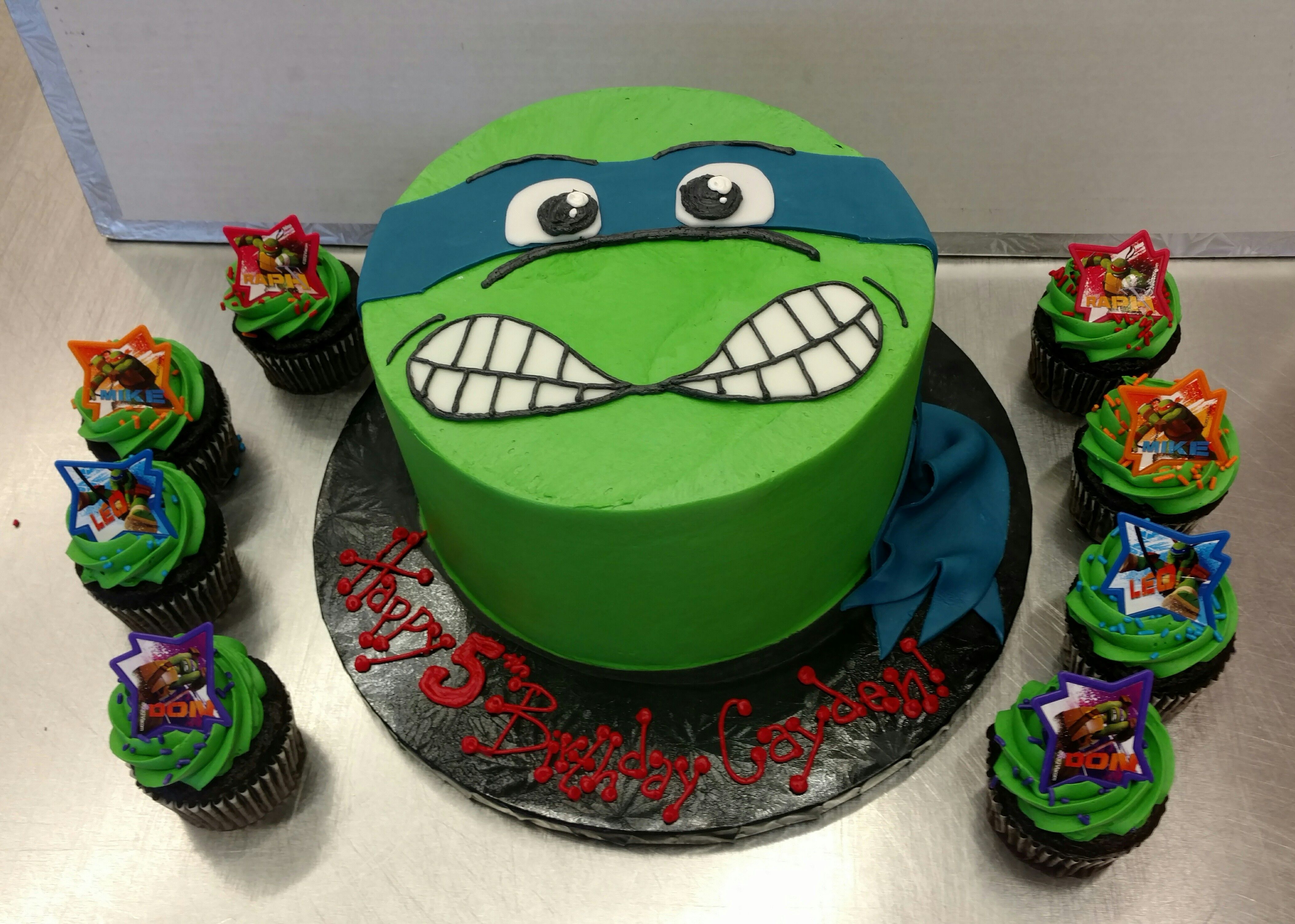 Teenage Mutant Ninja Turtle Cake From Our European Bakery At