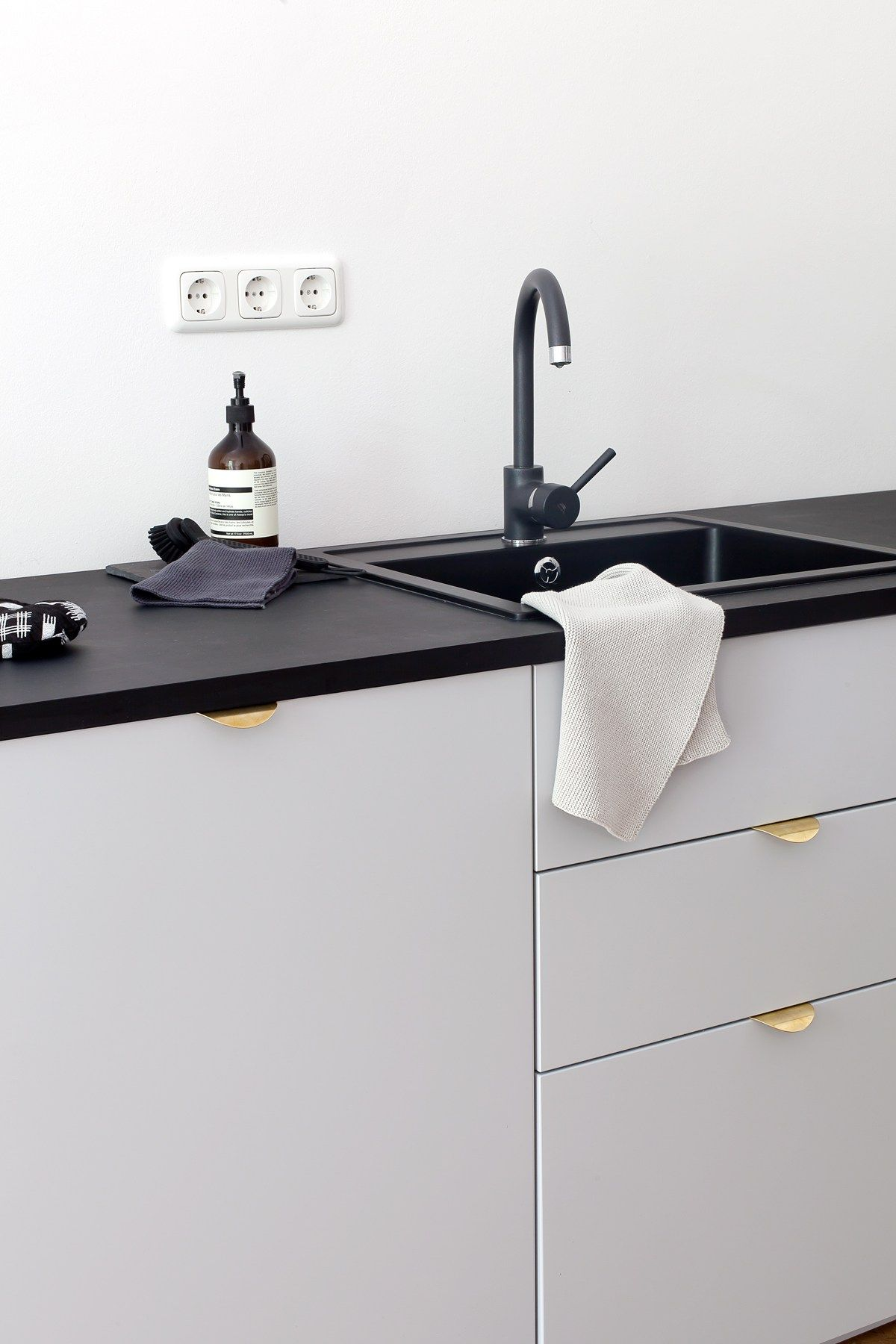 Our Kitchen Coco Lapine Design Black Kitchen Sink Kitchen Inspirations Ikea Kitchen