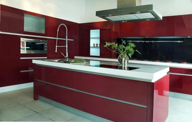 A Modern And Elegant Style Of Euro Kitchen Cabinets ...