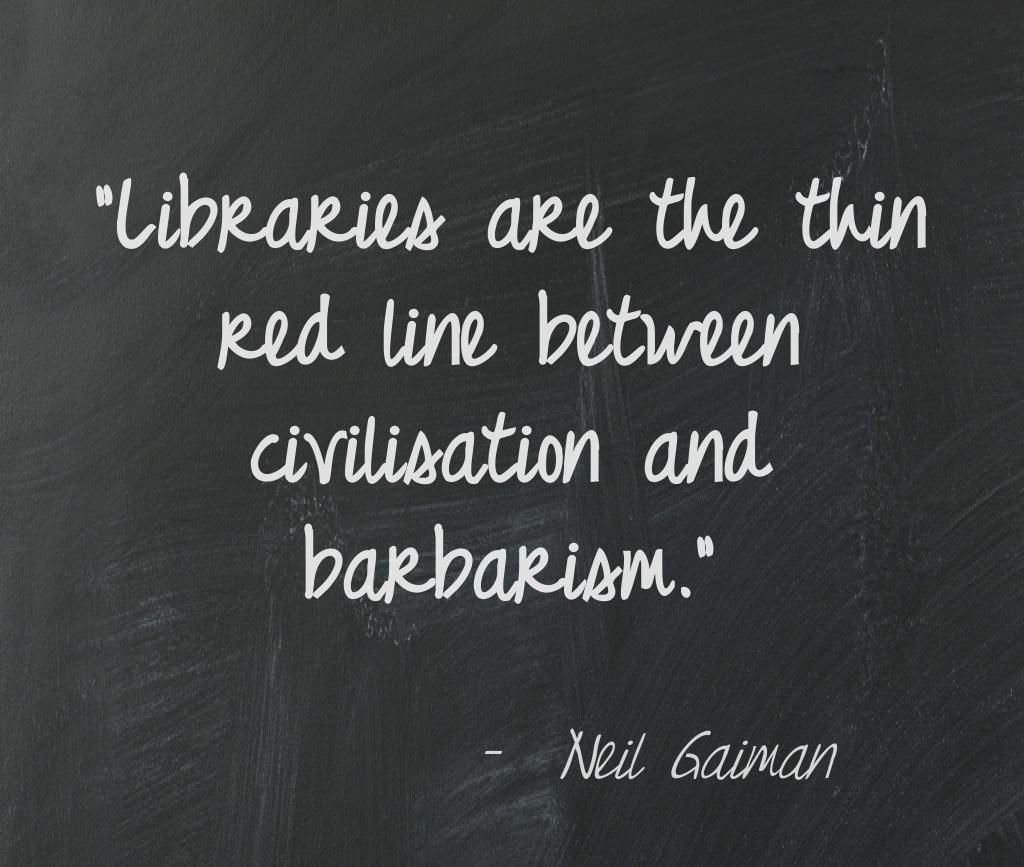 Library Quotes Neil Gaiman Library Quote  Library Quotes  Pinterest  Library