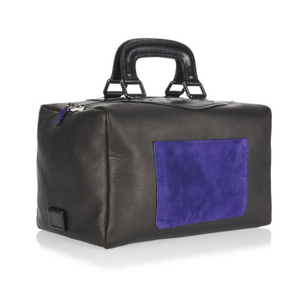 8a8f97636d Meredith Wendell Fishbowl leather duffel bag