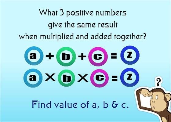 Image result for math riddles | Math Problems & Riddles ...