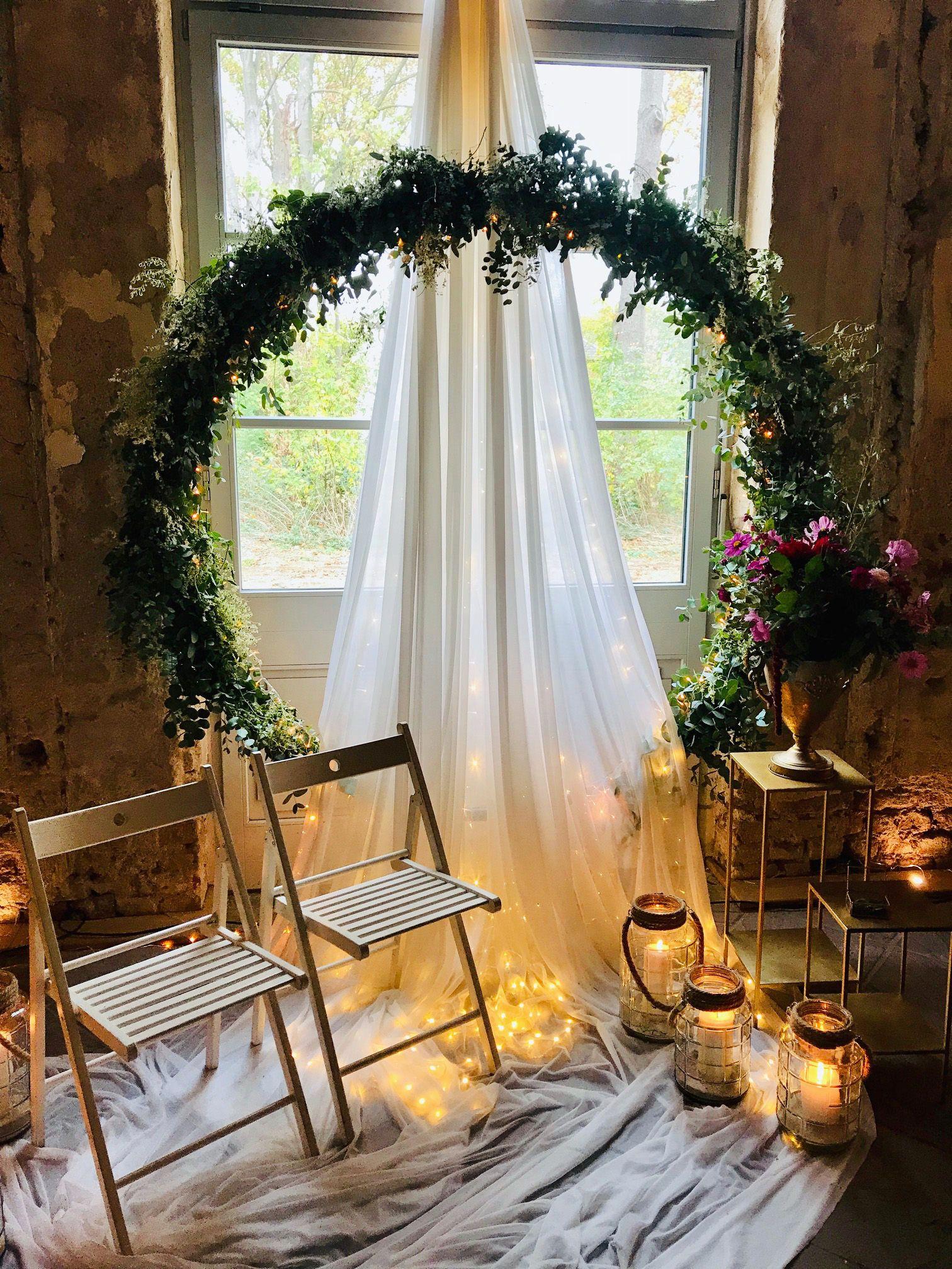 Bogen Inspiration Fur Deine Freie Trauung Hochzeit Hochzeit Drinnen Bogen Hochzeit Trauung