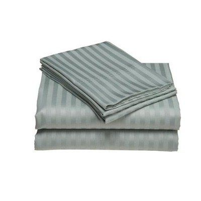 Elite Home Collection Wrinkle Resistant Woven Stripe 300 Thread