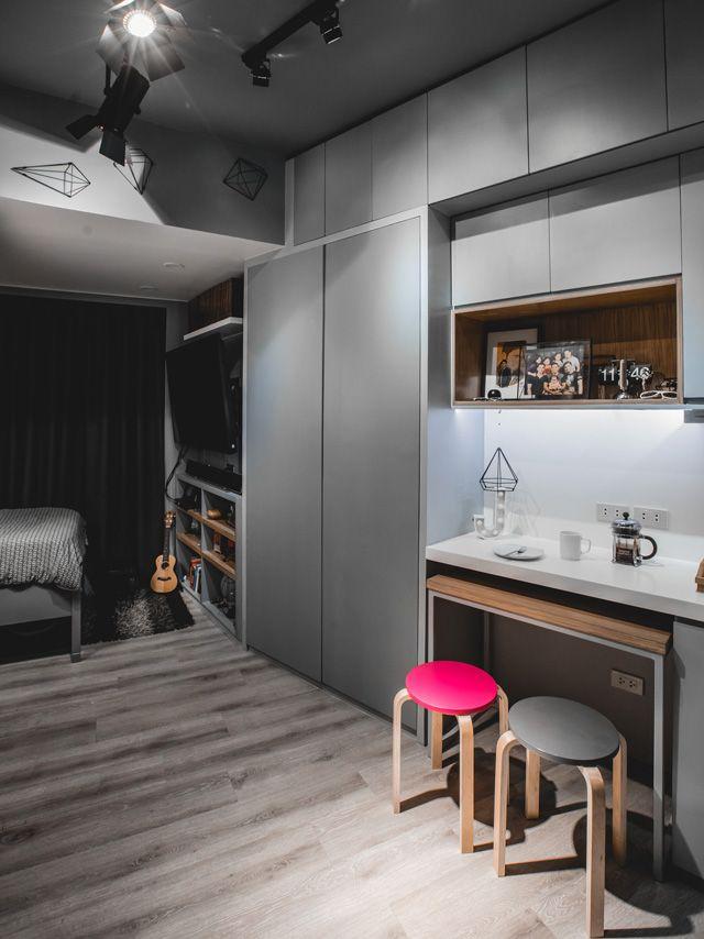 Flexi 2 Room Interior Design: This 17sqm Studio Unit Gives Us Small Space Goals