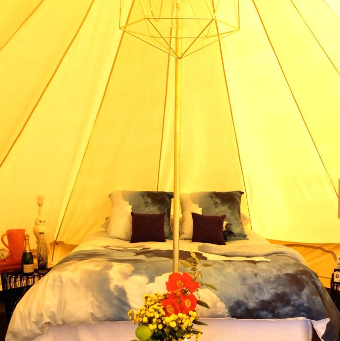 Melbourne · Gl&ing tent & Melbourneu0027s New u0027Glampingu0027 Rooftop Hotel | Glamping tents Tents ...