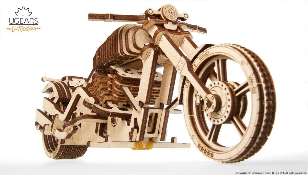 Mechanische Puzzle Aus Holz Licht In Der Dunkelheit Geschenkideen Motorrad