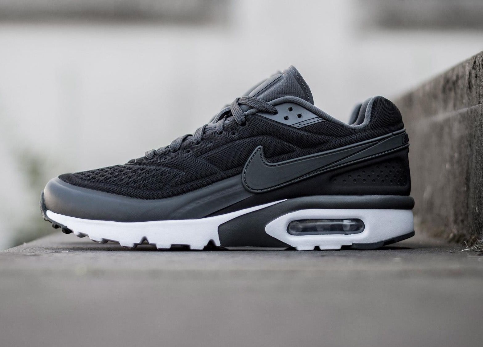 Air Max Classic Nike Air Classic Bw Ultra Black Grey Shoes In 2019 Nike