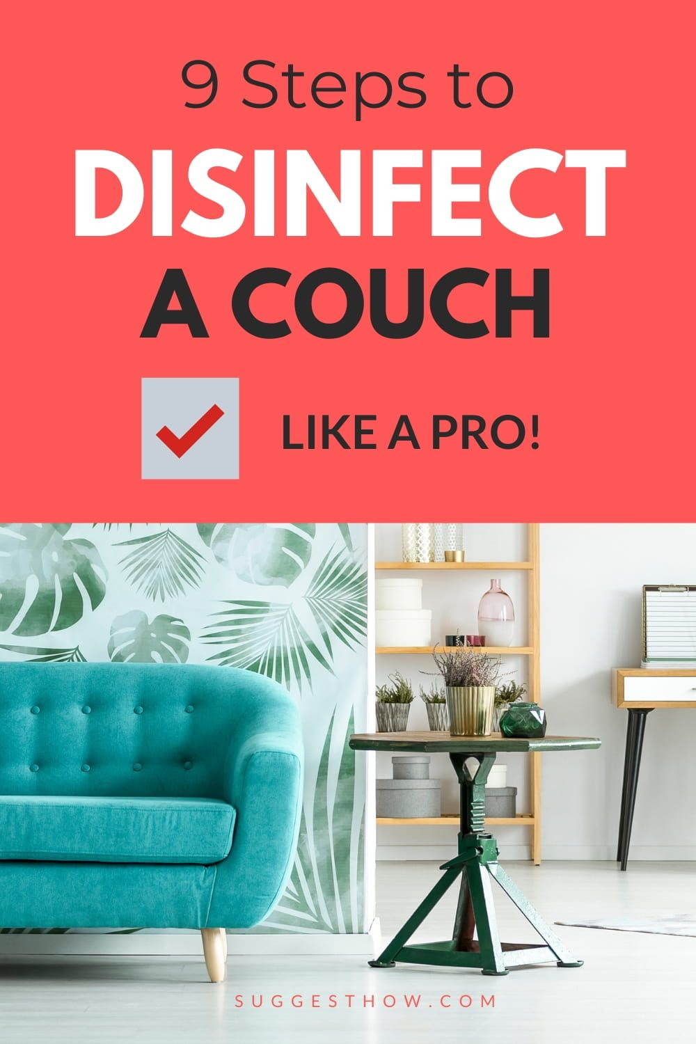 How To Disinfect A Couch Follow 9 Steps Properly In 2020 With