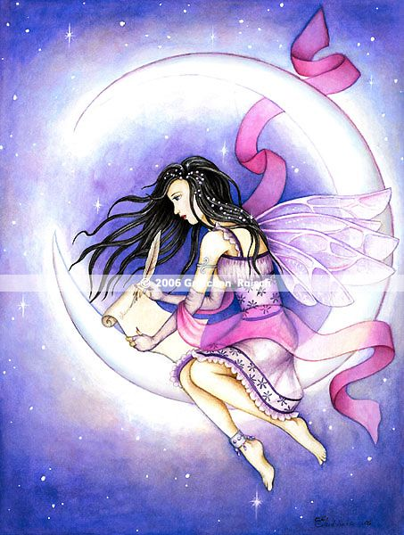 Moon Fairy | Crescent Moon Fairy