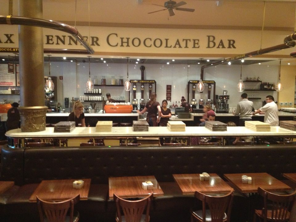 Max Brenner Chocolate Bar And Restaurant In Union Square New York