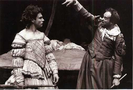 Elizabeth by Dario Fo, performed at the Half Moon Theatre in 1986