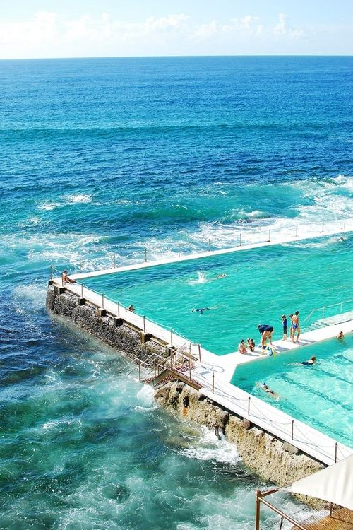 Bondi Beach Pool Australia Vacation Locations Places To Travel Dream Vacations Destinations