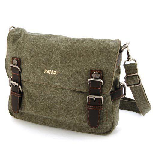 Organic Sativa Hemp Hand Bag Ps 35 Eco Friendly In Khaki