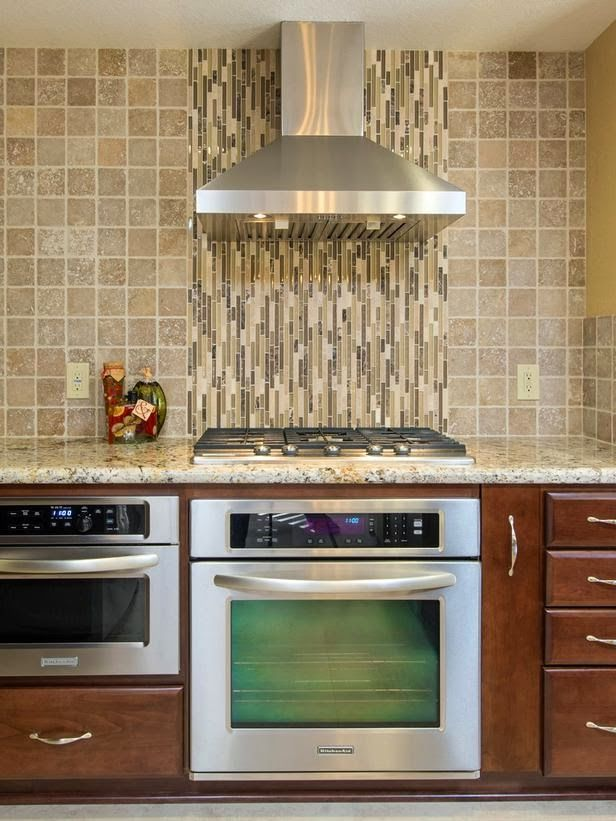 Superior Different Backsplash Ideas Part - 11: I Like The Idea Of A Different Backlash Design At The Oven, Not Necessarily  This