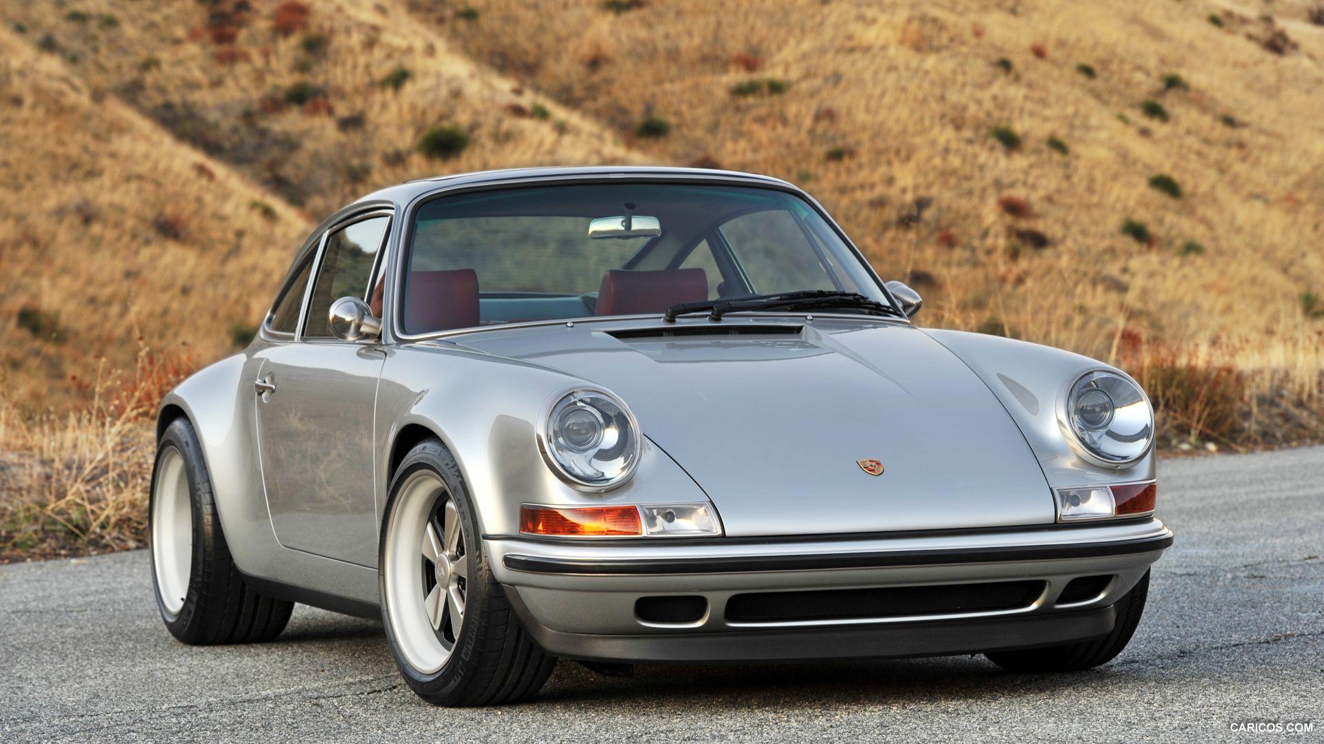 Singer Porsche 911 Silver Front 1920x1080 97 Of 144 Singer Porsche Singer Vehicle Design Porsche