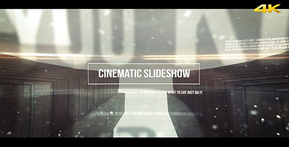 Cinematic Slideshow (Abstract) #Envato #Videohive #aftereffects