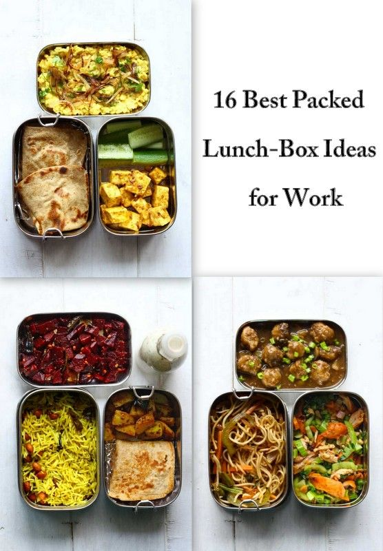 16 Best Packed Lunch Ideas For Work Tiffin Recipe Lunch