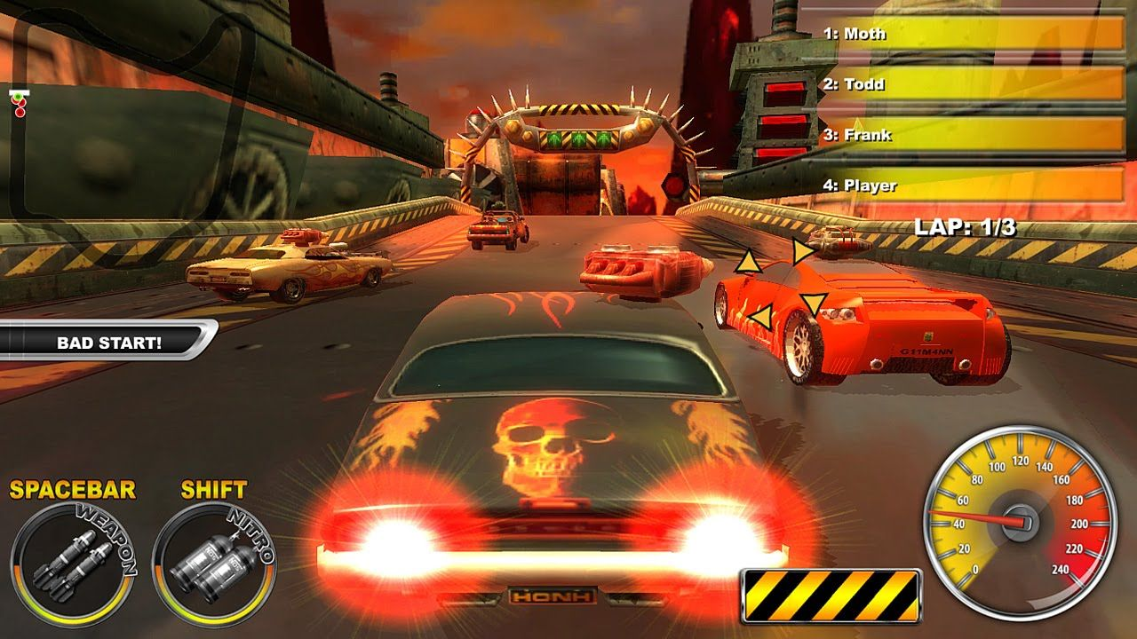 Lethal Brutal Racing By Y8 3d Game Walkthrough Video Games