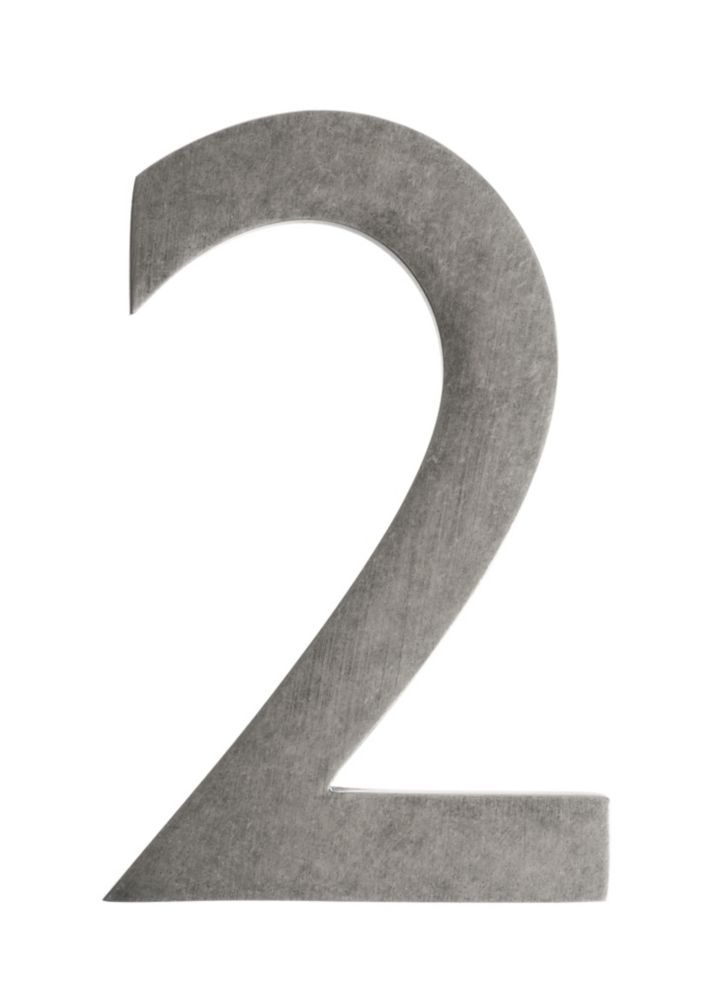 Address Number 4 Inch Brass Antique Pewter 2 Architectural Mailboxes Antique Pewter House Numbers