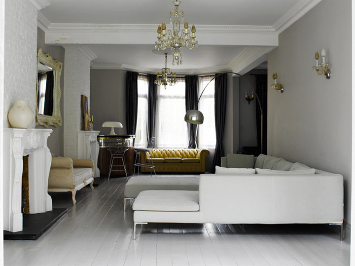 Modern Country Style Edwardian House Tour Click Through For Details