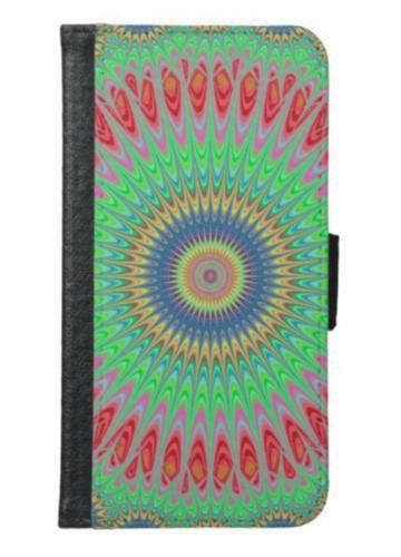 Summer mandala wallet phone case for samsung galaxy s6 $29.80