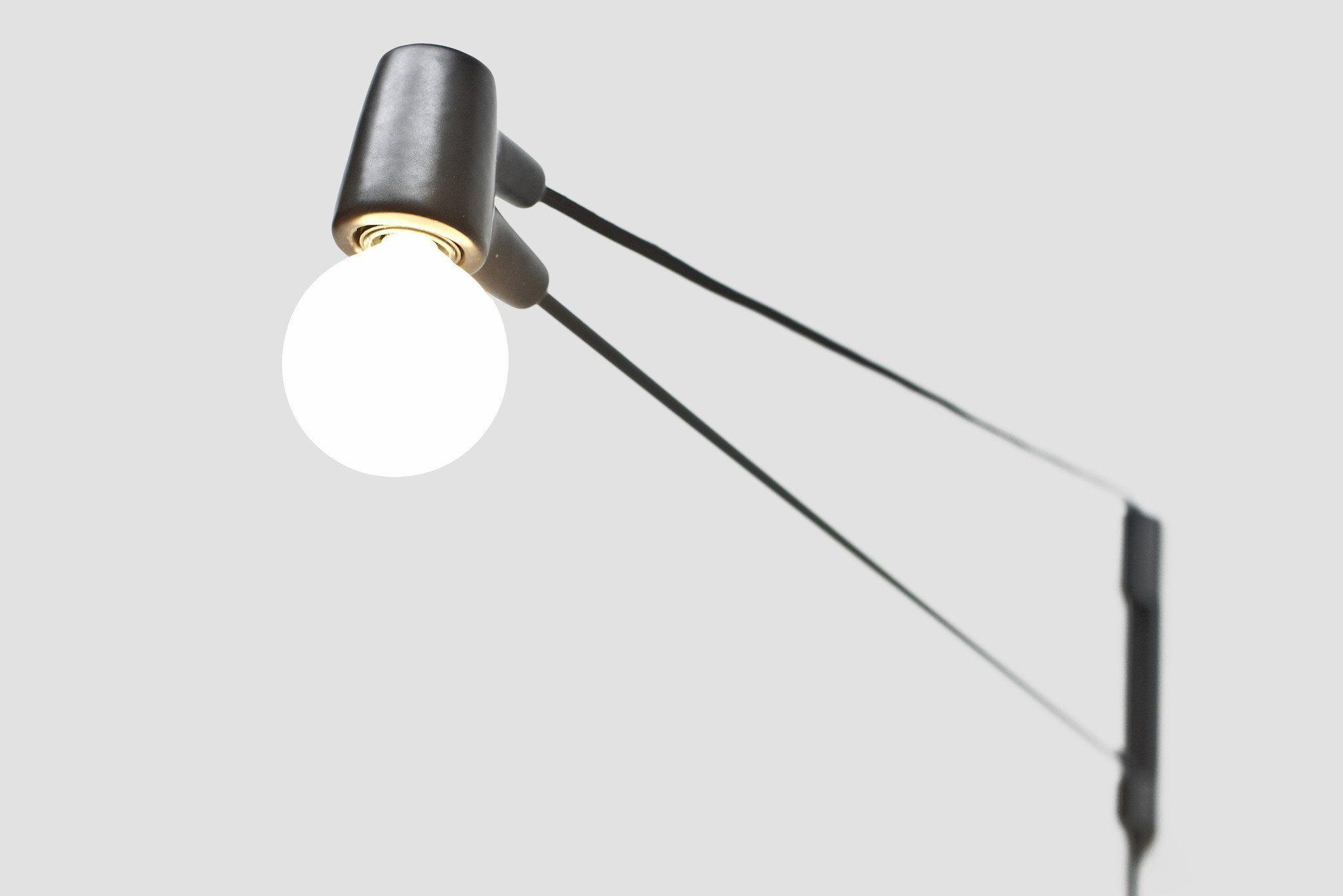 Cord Lamp Lighting Pinterest Cable Studio Design And Lights - Modern-swing-pendant-light-by-monochro-design-studio