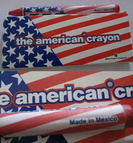 Mexico, America... it's almost the same thing...